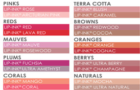 Specialty Color Chart